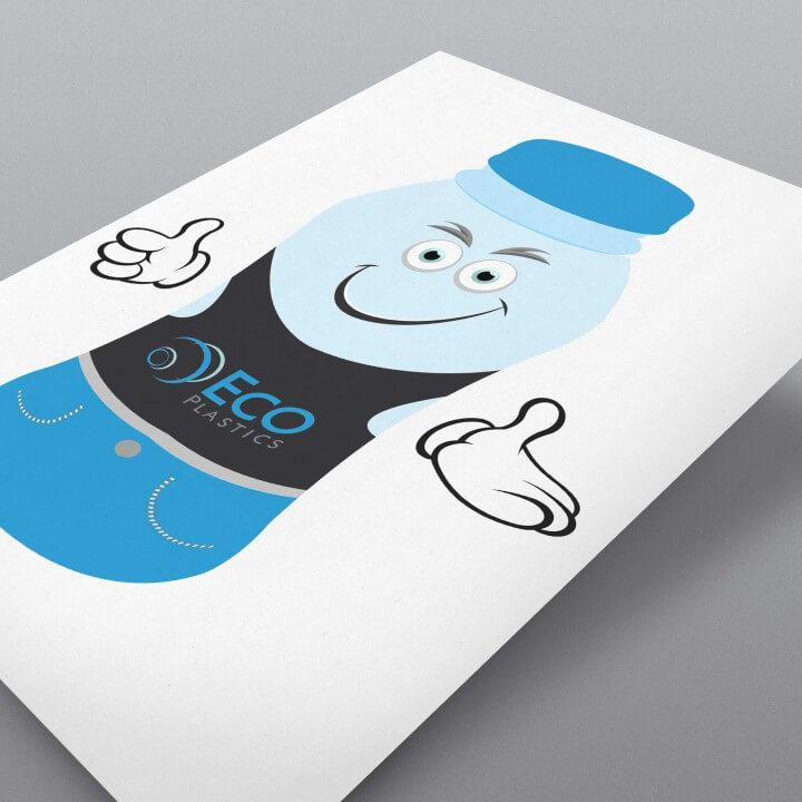 Eco Plastics Character Design