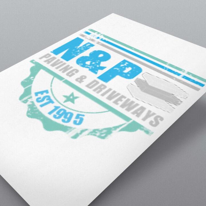 N & P Logo Design